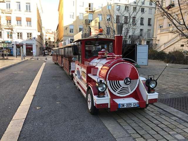 Petit-train touristique de Thonon-Les-Bains