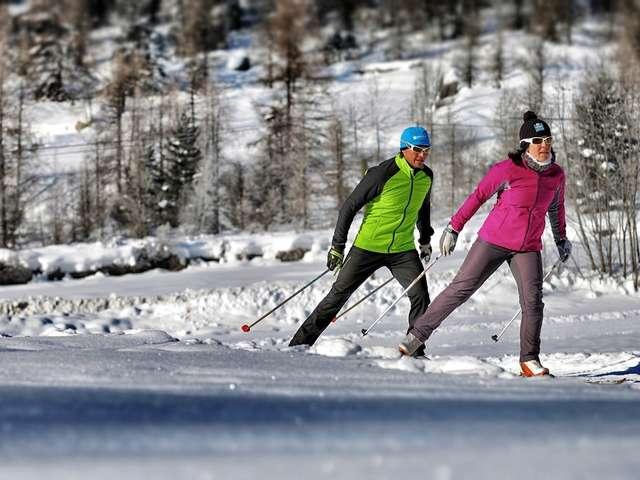 Week-end ski de fond à Champoléon