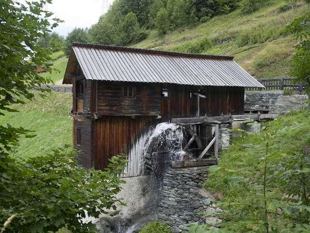 Säge und Mühlen von Sarreyer