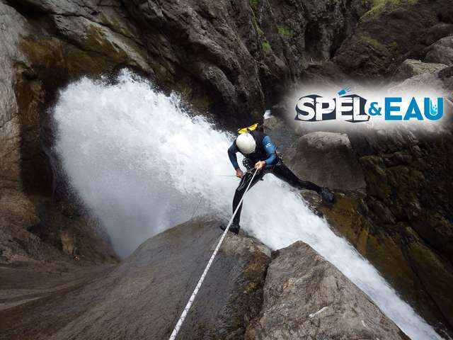 Canyoning with Spel & Eau