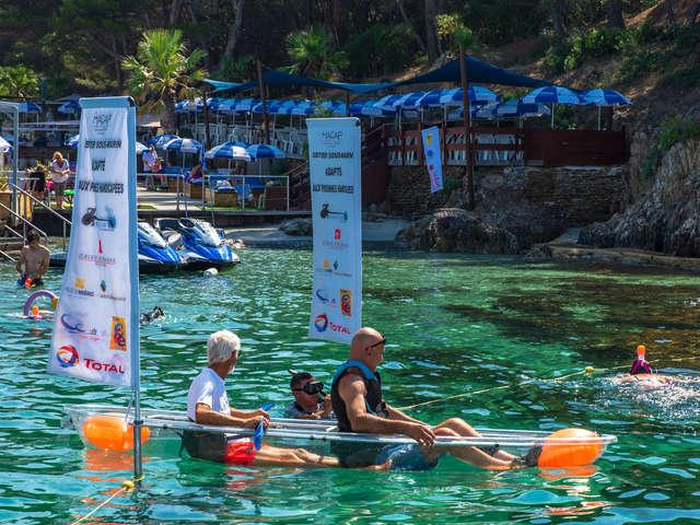 Sentier sous-marin pédagogique adapté de la plage de La Vignette