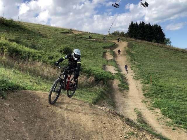 Ouverture de l' Espace VTT / Bike Park des Habères