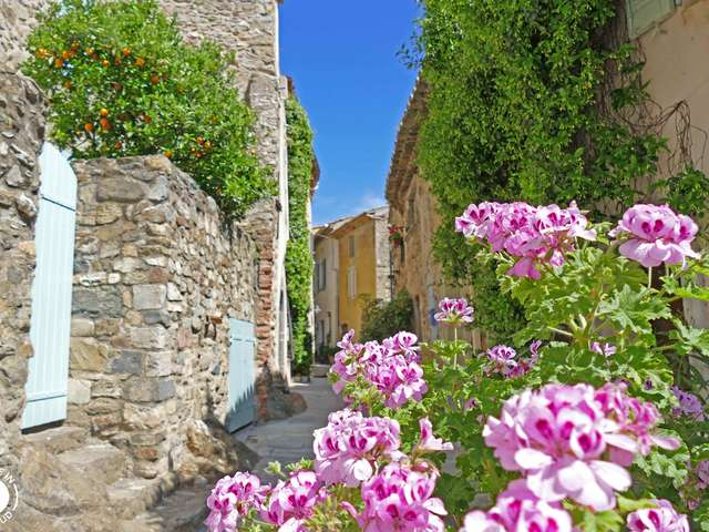 Historical center of Grimaud