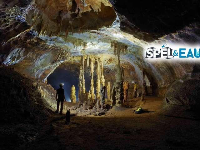 Speleology with spel & Eau