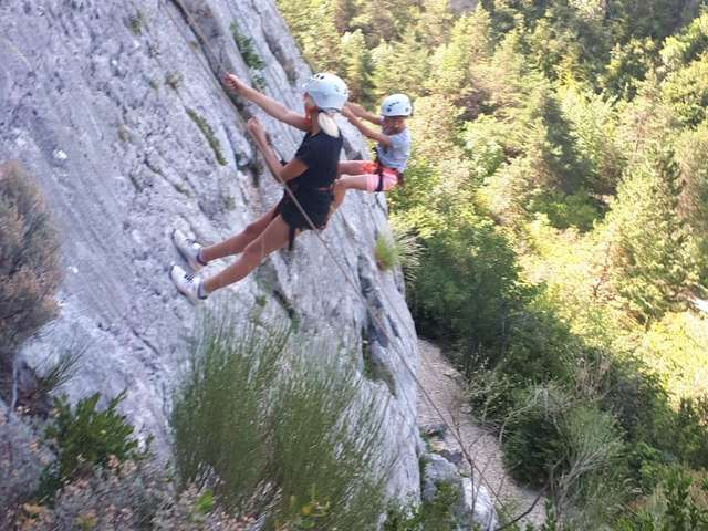 Escalade grande voie - Guides Esprit Montagne