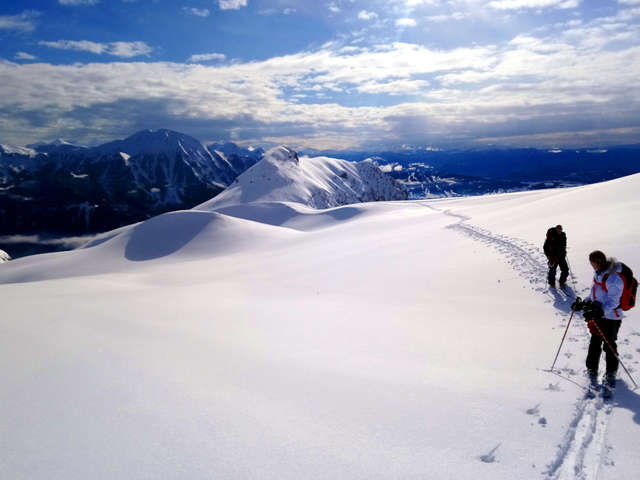 Ski de randonnée - Eric Fossard