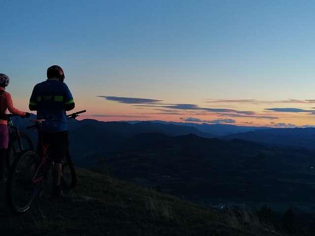 Lever et coucher de soleil - Maison du vélo