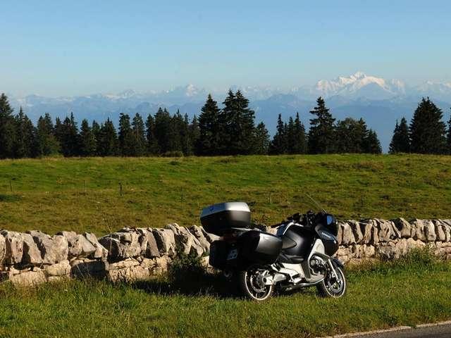 Circuit touristique à moto : Monts de Genève - Pays de Gex - Vallée de Joux