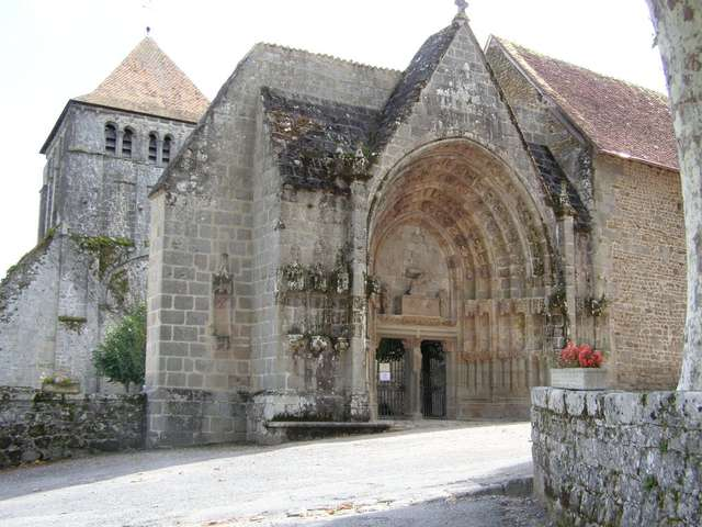 Moutier-d'Ahun Church