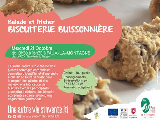 Balade et atelier 'Biscuiterie Buissonnière'