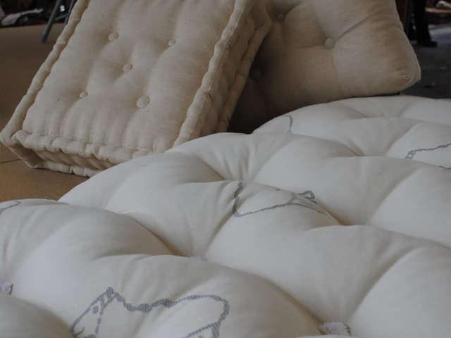 Stage création d'articles de literie en laine