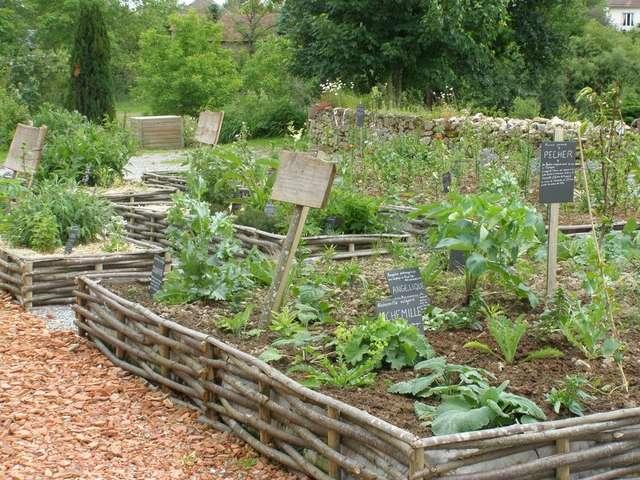 Jardins de Bridiers à La Souterraine