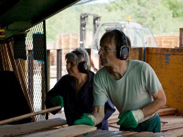 Visite guidée de la scierie coopérative Ambiance Bois
