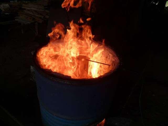 Atelier cuisson raku