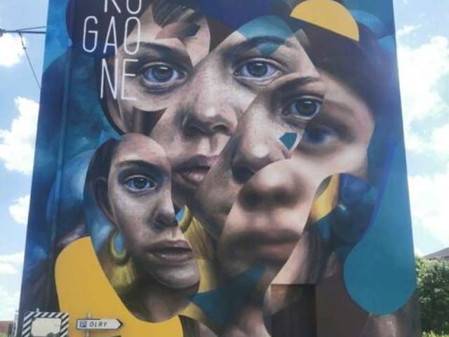 STREET ART - NOUVELLE FRESQUE 2018
