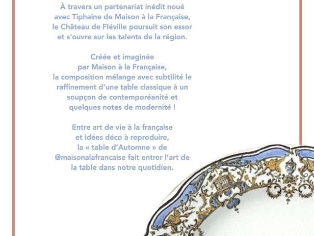 EXPOSITION TABLE D'AUTOMNE
