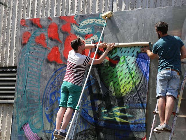 STREET ART - LE MUR NANCY