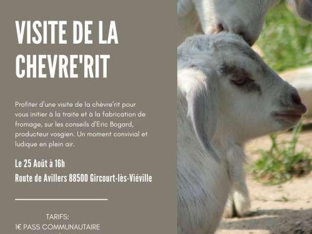 VISITE DE LA CHÈVRE'RIT