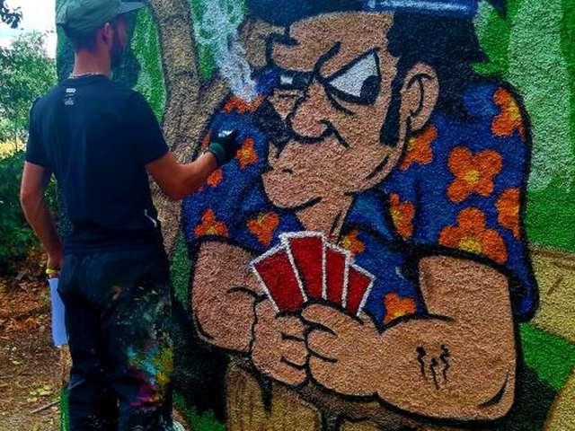 STAGE GRAFF MAIS PAS QUE...