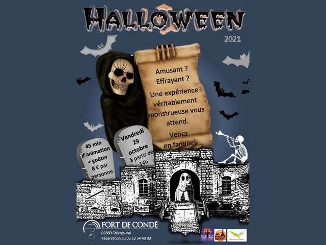 Halloween 2021 au fort de Condé