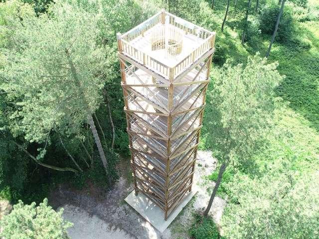 La tour d'observation du général Mangin