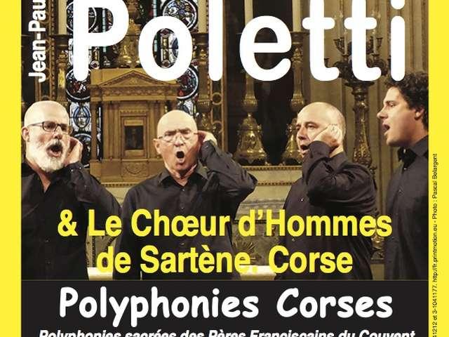 Concert Polyphonies Corses