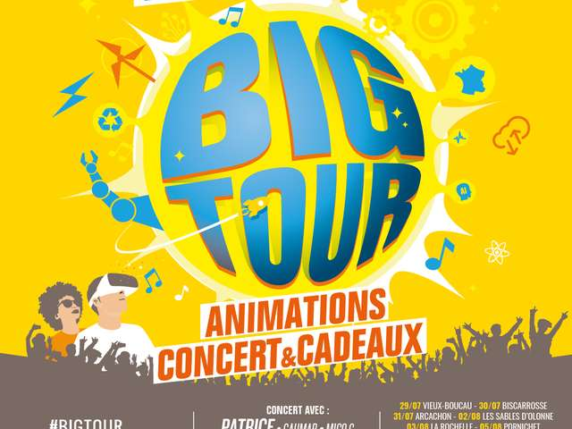 Big Tour à Arcachon