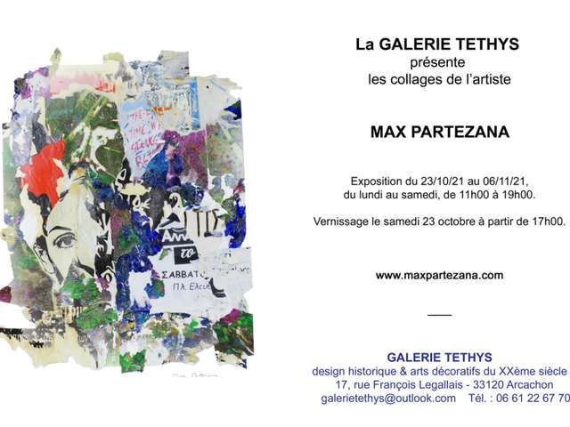 Exposition Les collages de l'artiste Max Partezana