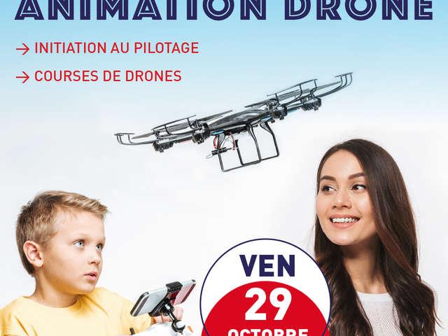 Initiation au pilotage et courses de drones
