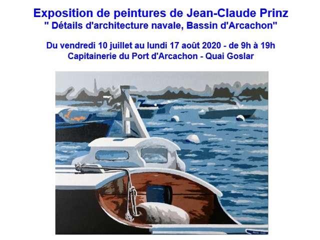 Exposition de peintures de Jean-Claude Prinz