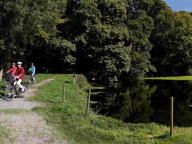 Boucle vélo : De Tonquédec à Pluzunet