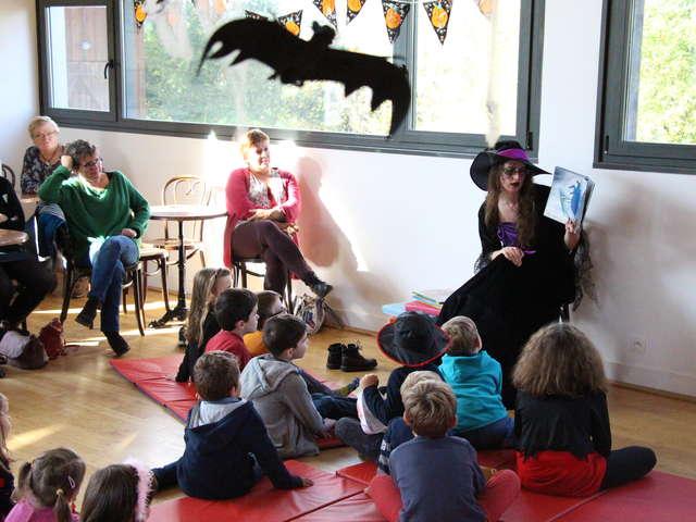 Halloween à la gare - Atelier contes