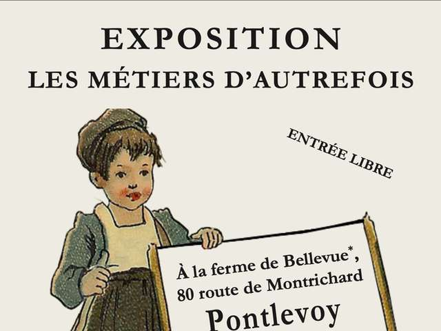 Exposition à la Ferme de Bellevue à Pontlevoy
