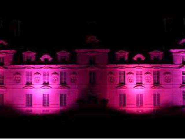 Octobre rose au château de Cheverny