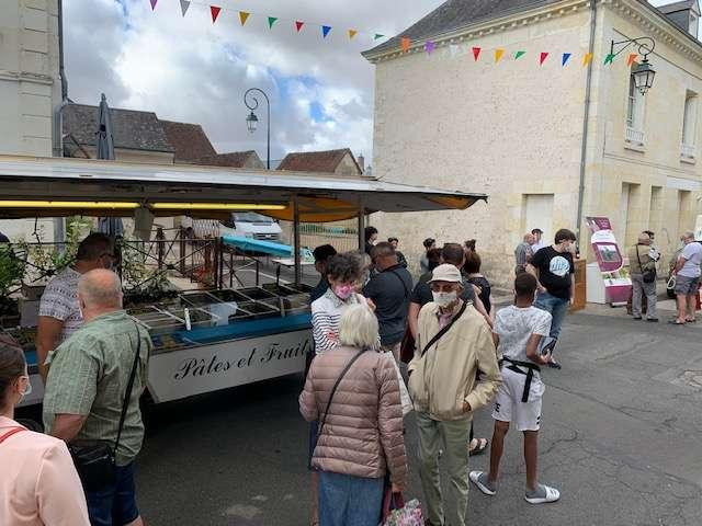 Marché de Vallée-de-Ronsard à Couture-sur-Loir