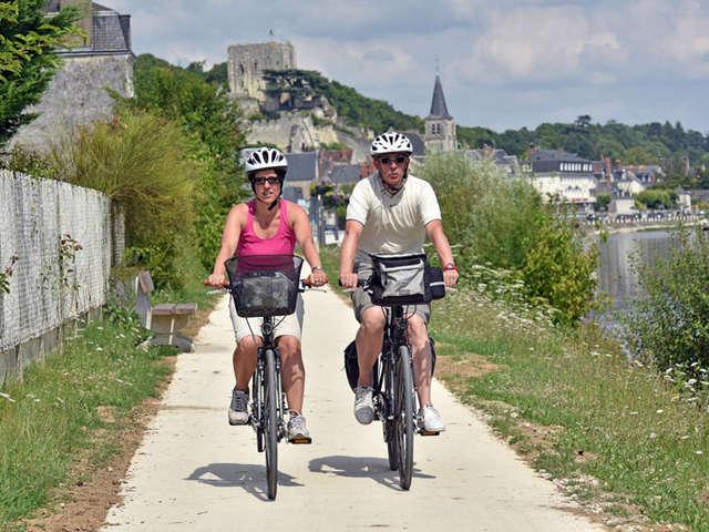 Le Cher à vélo... de Montrichard jusqu'à Chenonceau
