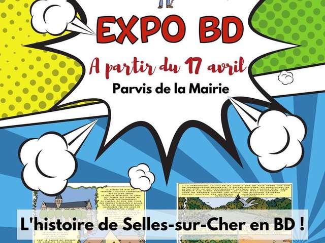 L'histoire de Selles-sur-Cher en BD !