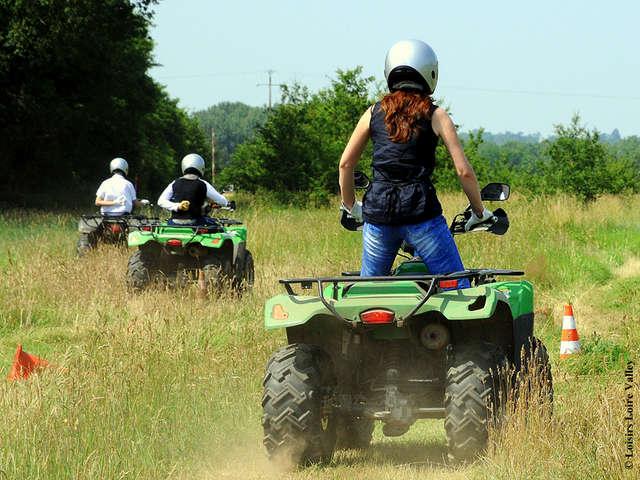 Randonnées quad - Loisirs Loire Valley