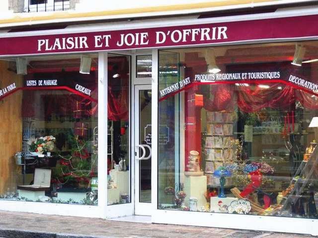 PLAISIR ET JOIE D'OFFRIR