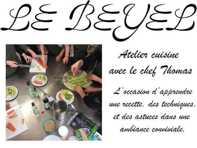 ATELIERS CUISINE AU BEYEL