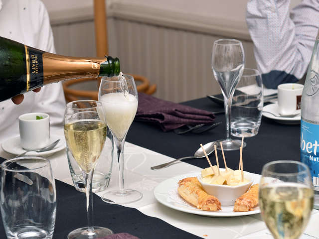 Fascinant Week-end V&D : Accords Mets Champagne H.Baty au Restaurant Maison Souply