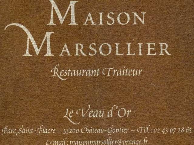 RESTAURANT LE VEAU D'OR, MAISON MARSOLLIER