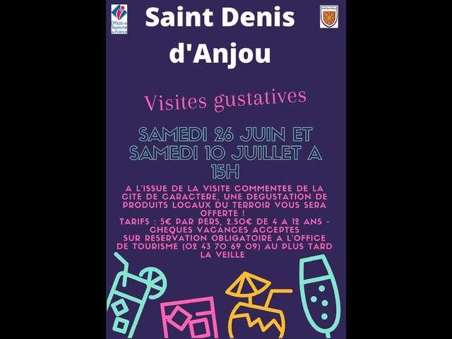 VISITES GUSTATIVES DE L'OFFICE DE TOURISME