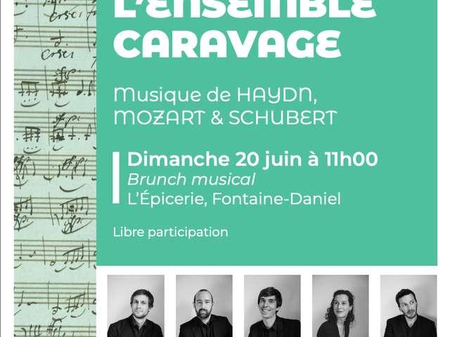 BRUNCH MUSICAL SUR LA TERRASSE AVEC L'ENSEMBLE CARAVAGE