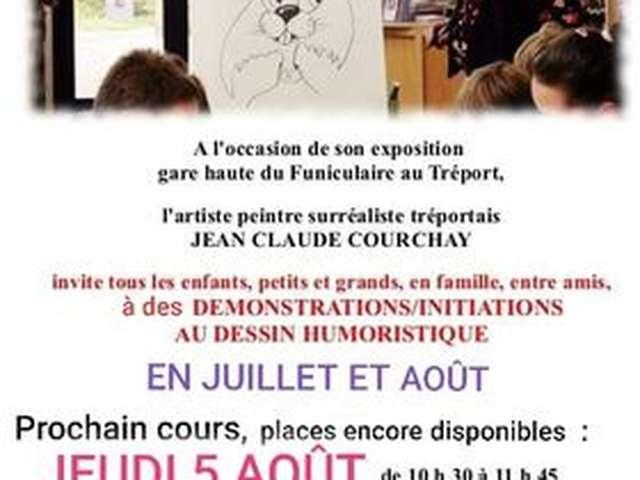 [ANIMATION CONFIRMEE] - Démonstrations et initiations au dessin humoristique