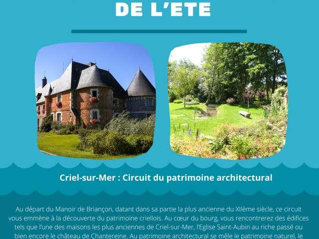 [ANIMATION CONFIRMEE] | Visite guidée de l'été - Criel-sur-Mer : Circuit du patrimoine architectural