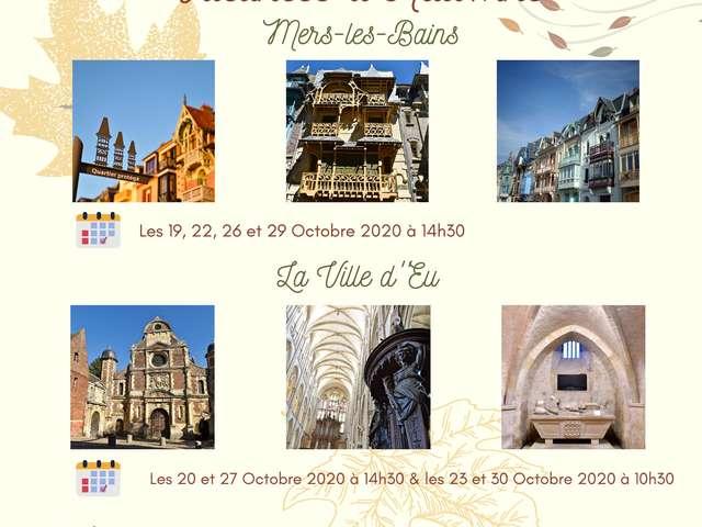 [ANIMATION CONFIRMEE] | Visite guidée - Eu : Promenade historique du 12ème au 19ème siècle