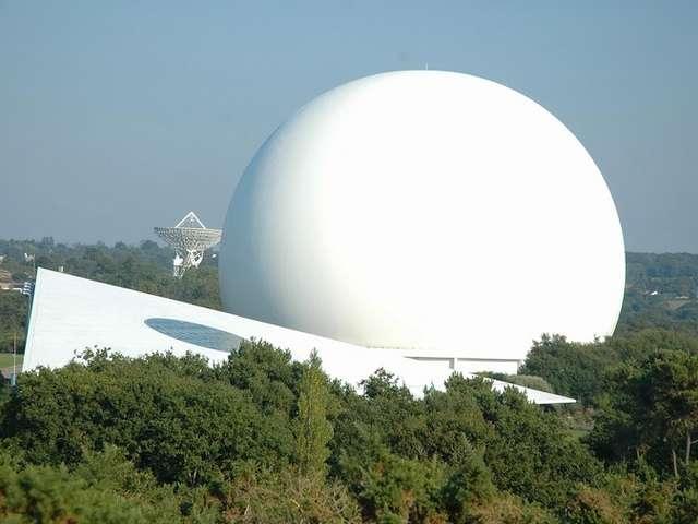 À VTT à Pleumeur-Bodou, entre télécommunications et patrimoine