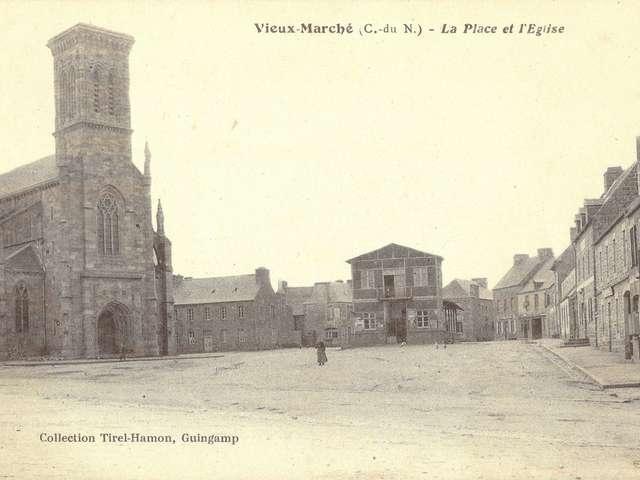 Visite de l'église de Vieux-Marché