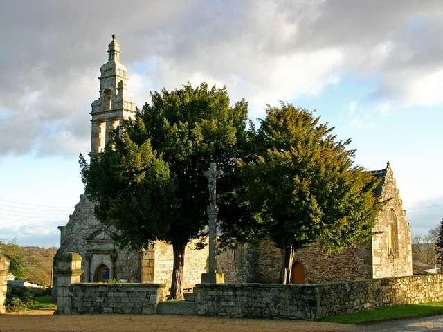 Chapelle et croix Notre-Dame du Dresnay